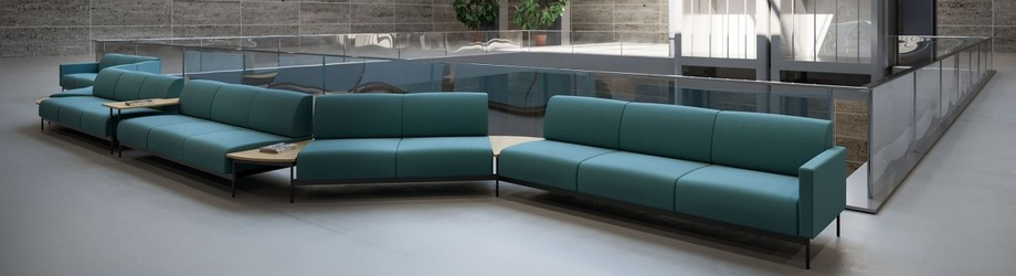 Hotel sofa modular seating in Atrium